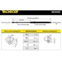 Amortecedor  capô / mola pneumatica do capô - MONROE - BMW Serie 7