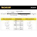 Amortecedor  capot / mola pneumatica - Monroe - BMW X3